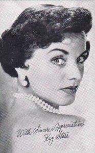 Kay Starr Vintage Arcade Card
