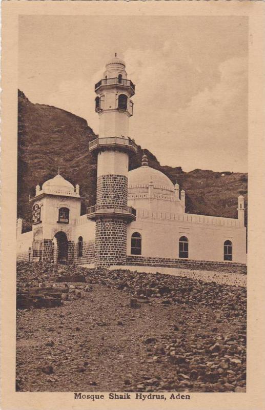 Mosque Shaik Hydrus , Aden , 1910s
