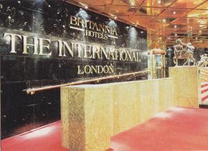 Postal 62158 : Britannia Hotels The international London