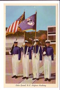 Color Guard, US Air Force Academy, Colorado Springs, Colorado,