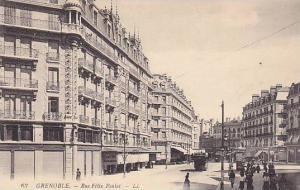 GRENOBLE , France , 00-10s ; Rue Felix Poulat