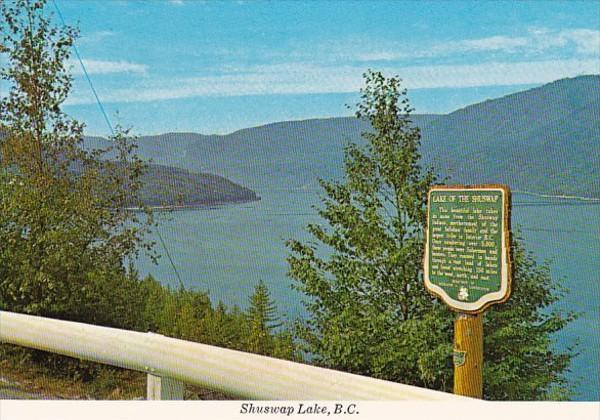 Canada British Columbia Shuswap Lake