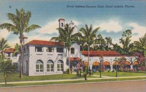 Florida Coral Gables The Coral Gables Country Club 1939