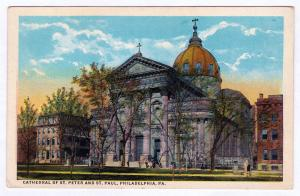 1915-30 Cathedral of St. Peter Saint Paul 18th/Race/Vine Philadelphia PA Church