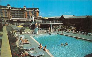 Louisville Kentucky~Executive Inn @ Ky Fair & Expo Ctr~Swimming Pool~1960s Pc