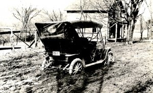 VT - Spring Touring Hazard in 1913    (Reproduction)