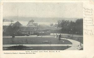 Salem NH Path Up to Cafe @ Canobie Lake Park~Monahan of Haverhill~c1906 Postcard