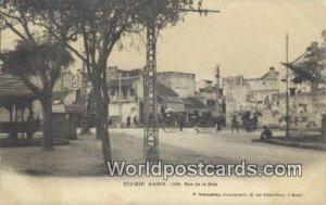 Hanoi, Rue de la Soie Tonkin Vietnam, Viet Nam 1905