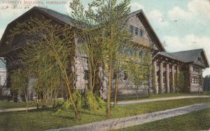 PORTLAND , Oregon , 1907 ; Forestry Building