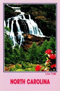 North Carolina Low Falls Down Cullasaja Gorge