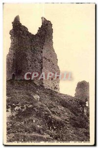 Old Postcard La Valee Creuse Crozant The Ropines Loor Carre