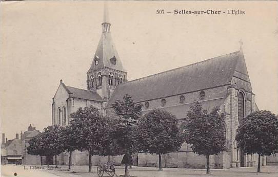 L'Eglise, Selles-sur-Cher (Loir-et-Cher ), France, 1900-1910s
