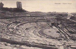 Italy Siracusa Teatro Grego