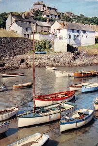 Boats, COVERACK, Cornwall, England, UK, 1950-1970s