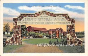 KIowa Indian Hospital Lawton, Oklahoma, OK, USA Indian Unused