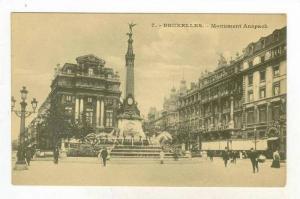 Monument Anspach, Bruxelles, Belgium, 1900-1910s