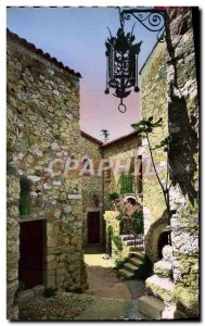 Old Postcard Eze Village Palace of the Prince of Sweden