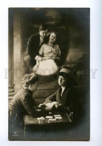 139679 Fortune Telling CARTOMANCY vintage PHOTO PC