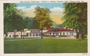 Indiana Winona Lake Billy Holiday Tabernacle Curteich