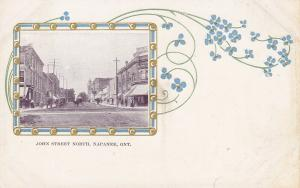 NAPANEE , Ontario , 1901-07 ; John Street , North