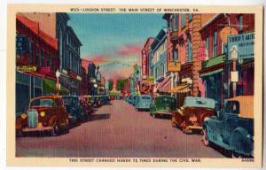 Loudon St. Winchester VA
