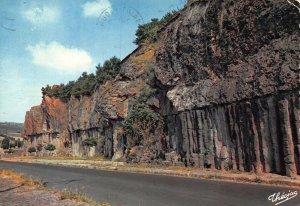 France Les Orgues Basaltiques Road Postcard