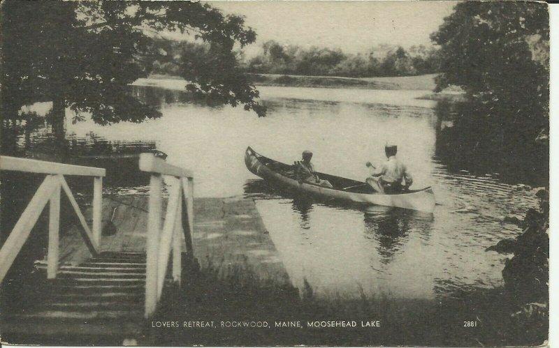 Rockwood, Maine, Moosehead Lake, Lovers Retreat