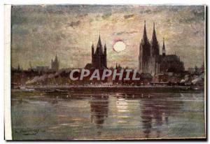 Old Postcard Ehrenbreitstein Koblenz m