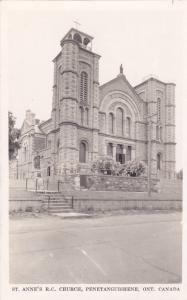 RP; PENETANGUISHENE, Ontario, Canada, 1930-40s; St. Anne's R. C. Church
