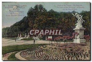 Old Postcard Saint Germain en Laye Rond Point de la Terrasse the Rosarium Lea...