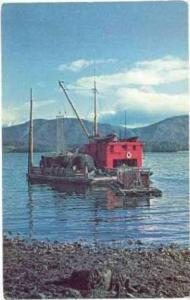 Dredge ship  DUCHESS  Port Bailey at Kodiak, Alaska, 50-60s