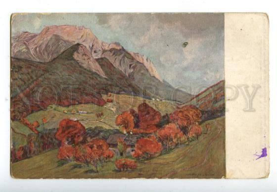 158574 Liechtenstein SCHELLENBERG by MEYER-BASEL Vintage PC