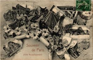 CPA Souvenir de Paris 18e (301836)