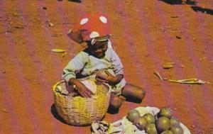 Haiti Furcy Young Avocado Vendor