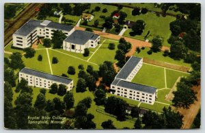 Springfield Missouri~Birdseye Baptist Bible College Campus~c1958 Postcard