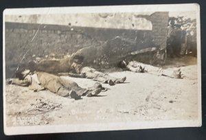 Mint Usa Real Picture Postcard Mexican Revolution Execution El Paso Texas