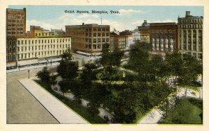 TN - Memphis. Court Square