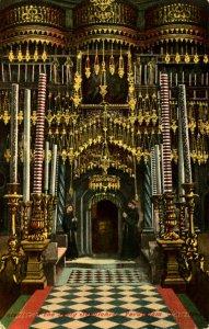 Israel - Jerusalem. Interior of the Holy Sepulchre