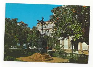 Sevilla Spain Seville Plaza de Santa Cruz Vtg Postcard 4X6