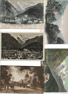 Switzerland Interlaken Postcard Lot of 10 01.11