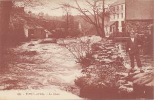 Pont - Aven, Le Chaos, France, early postcard, Unused