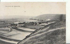 Sussex Postcard -The Dyke - Near Brighton - Ref 16833A