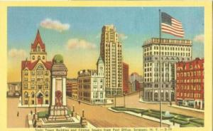 State Tower Building & Clinton Square, Syracuse, New York...
