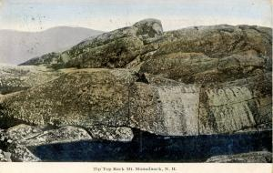 NH - Mt Monadnock. Tip Top Rock