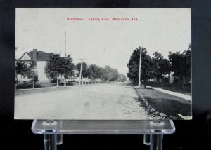 Monticello, IN - Broadway, Looking East - Indiana