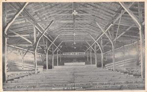 Toledo OH~Inside Billy Sunday Tabernacle~Will Fight Until Hell Freezes Over 1911
