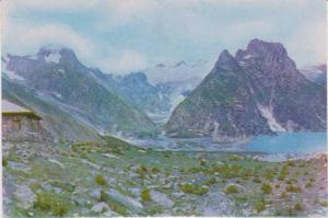 Mountains and Lake, Shes Nag, Kashmir, Srinagar India