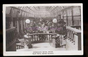 tp2197 - Yorkshire - Royal Baths & Winter Gardens, Harrowgate c1917 - postcard
