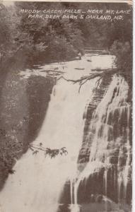 OAKLAND , Maryland ,PU-1911 ; Muddy Creek Falls