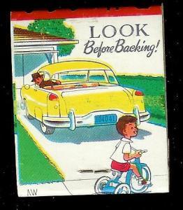 LINCOLN BAKERY 1950's Full Unstruck Matchbook